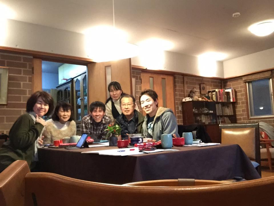 「世田谷ボランティアセンター」の防災関連イベントに参加したメンバーの新年会