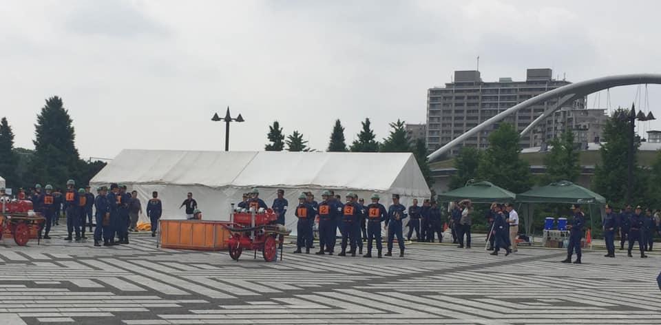 玉川消防操法大会