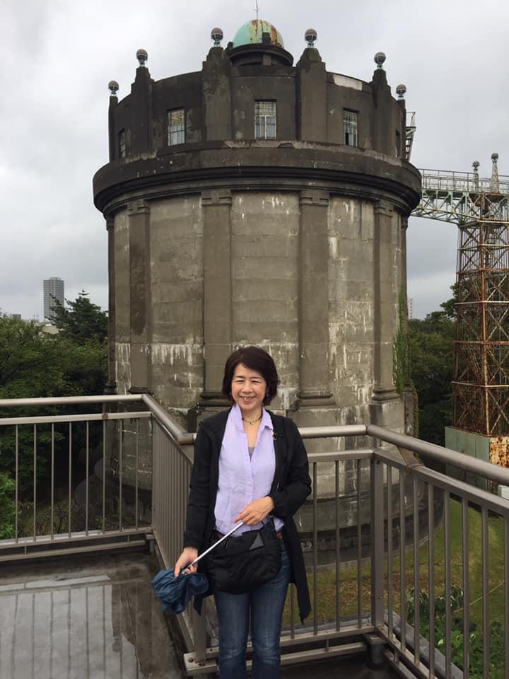 駒沢給水塔見学
